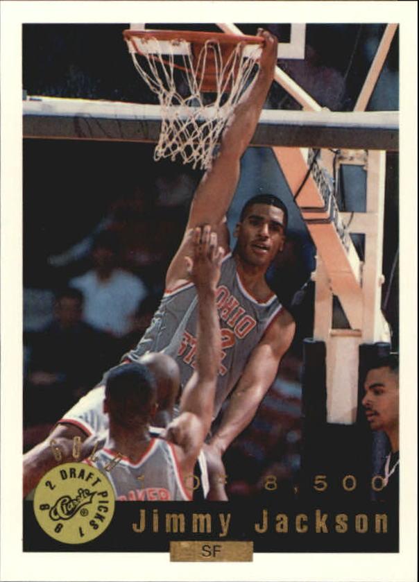 1992 Classic Gold #31 Jimmy Jackson