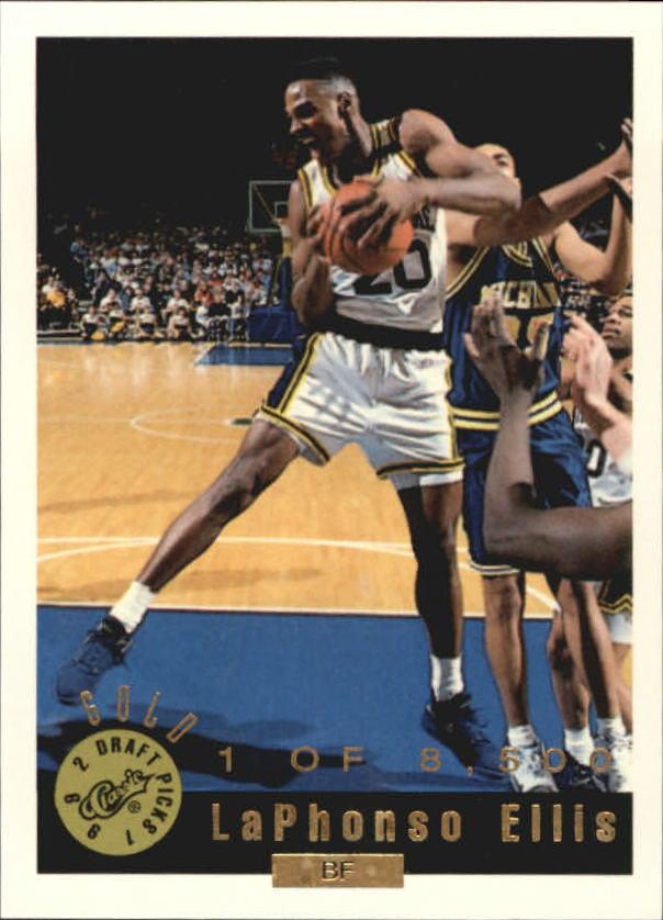 1992 Classic Gold #47 LaPhonso Ellis