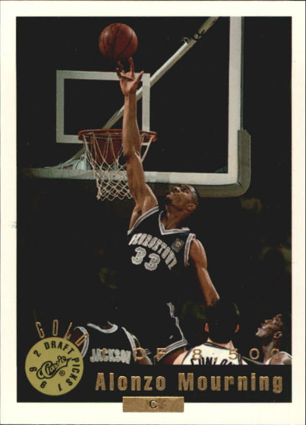 Buy Alonzo Mourning Cards Online Alonzo Mourning