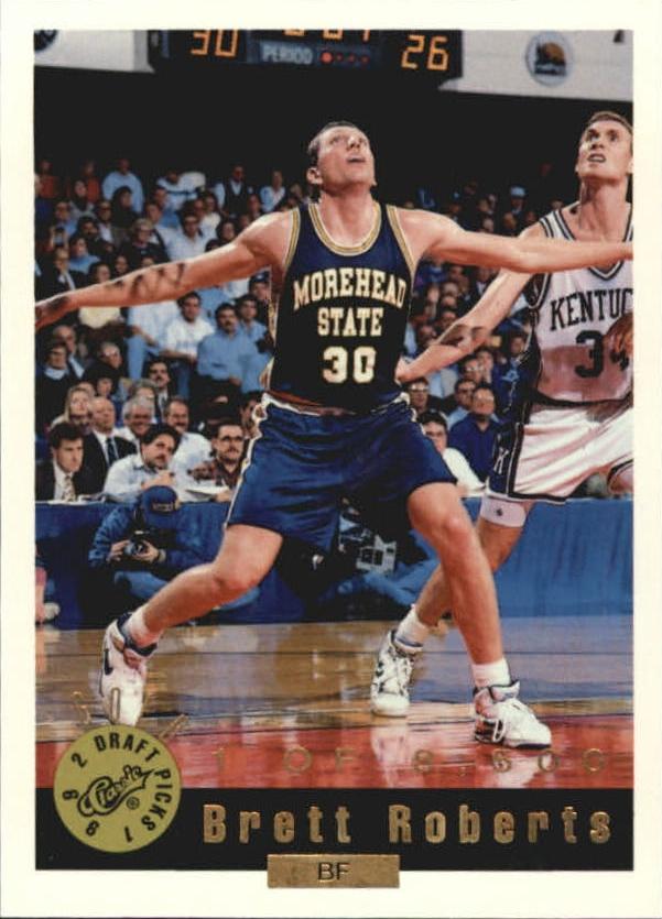 1992 Classic Gold #73 Brett Roberts