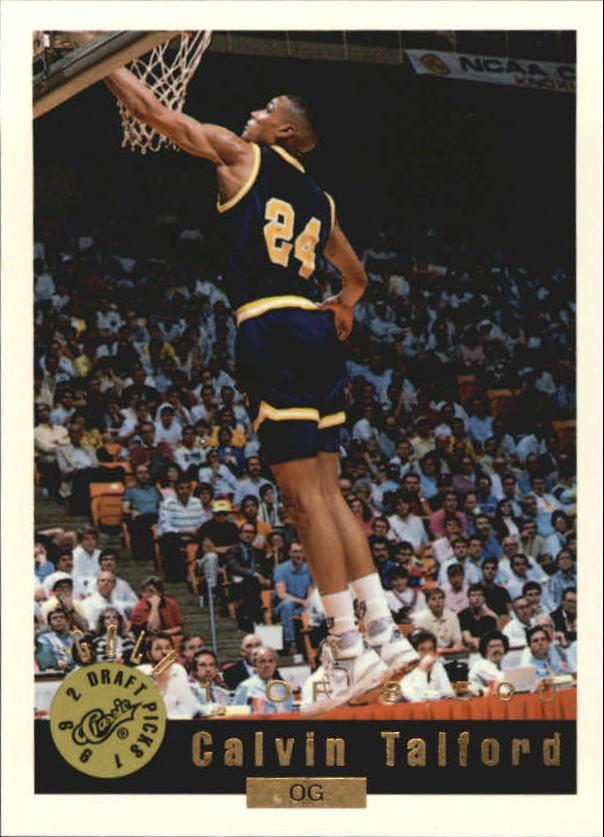 1992 Classic Gold #94 Calvin Talford