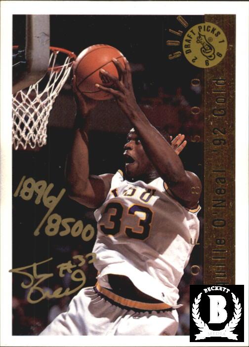1992 Classic Gold #AU Shaquille O'Neal AU/8500