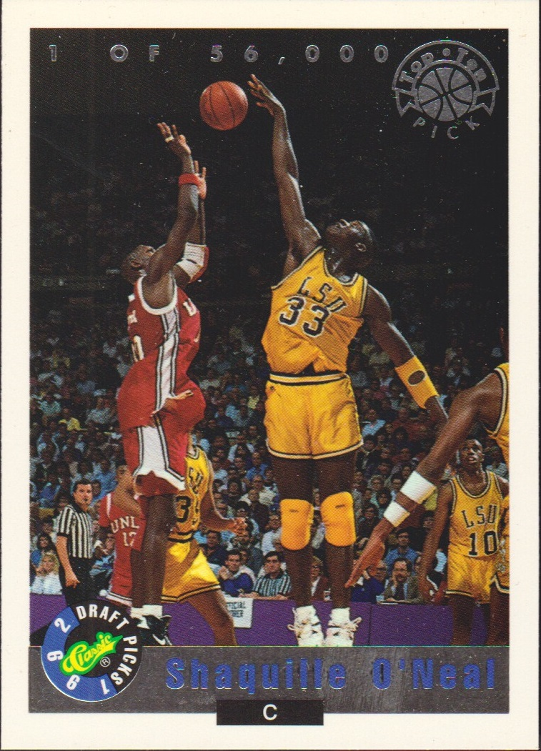 1992 Classic LPs #LP1 Shaquille O'Neal