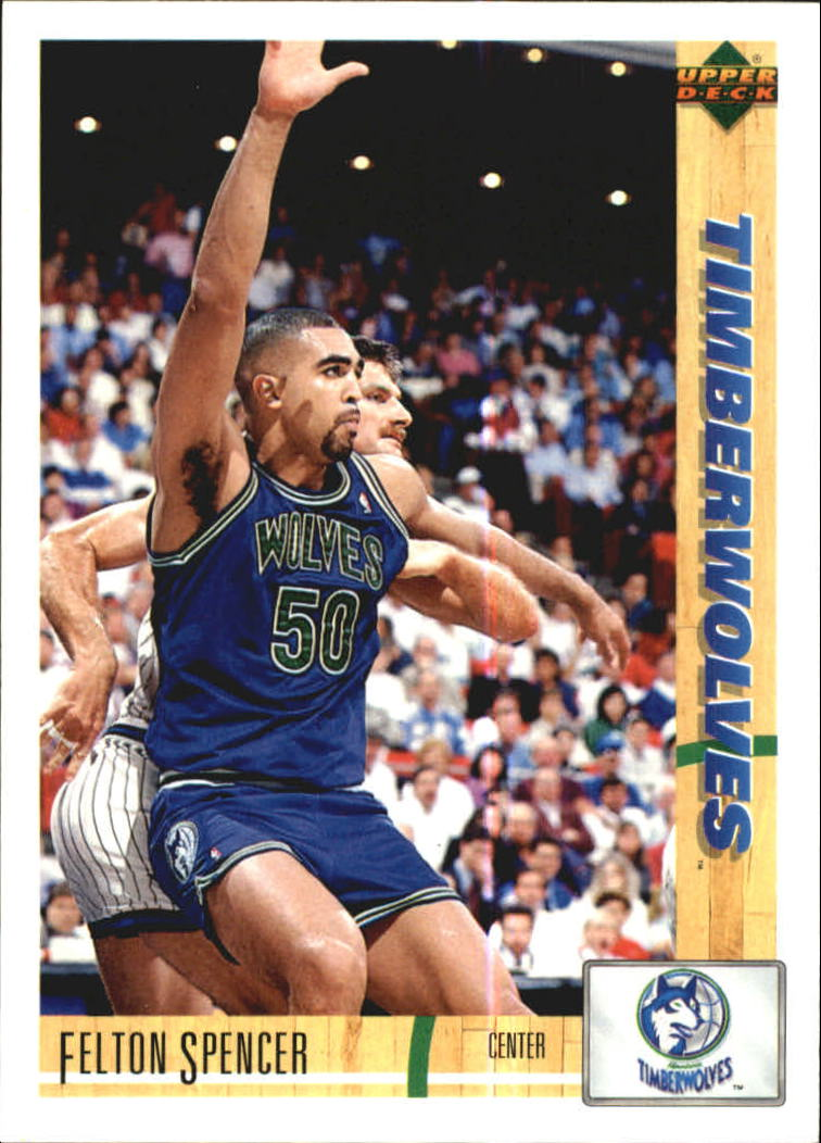 1991-92 Upper Deck International Italian #73 Felton Spencer