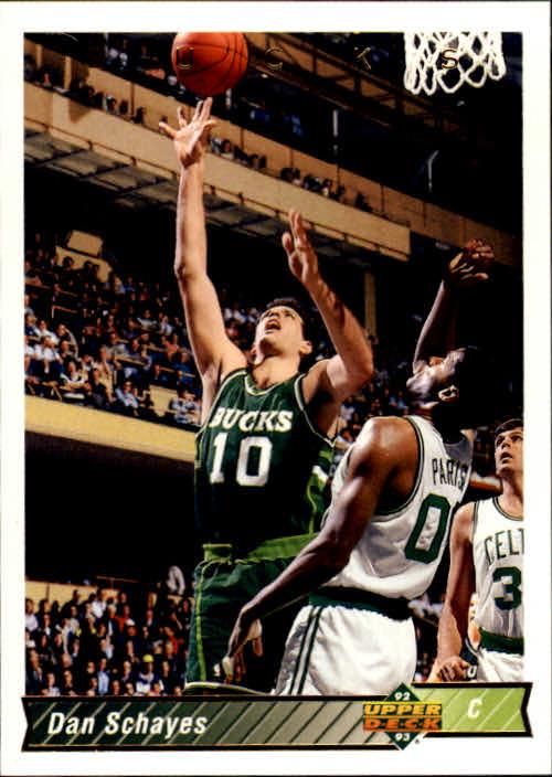 1992-93 Upper Deck #85 Danny Schayes