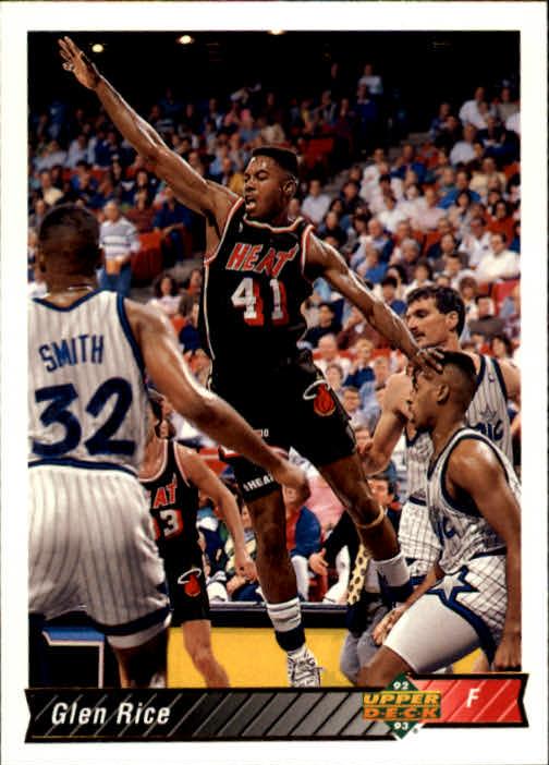1992-93 Upper Deck #126 Glen Rice
