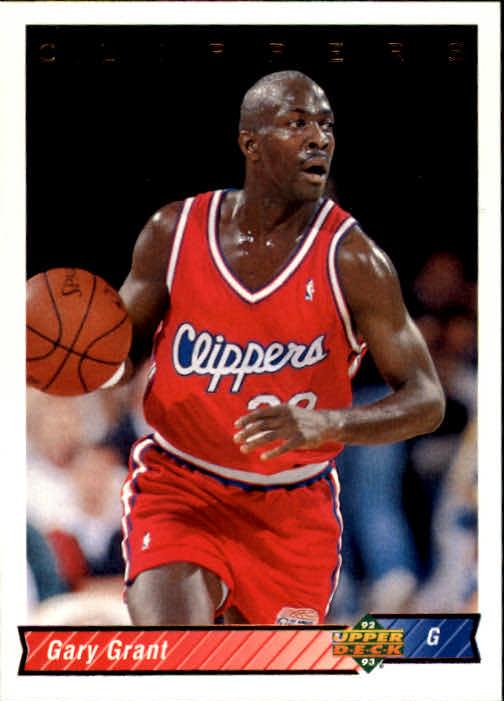 1992-93 Upper Deck #203 Gary Grant