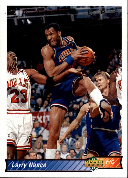 1992-93 Upper Deck #281 Larry Nance/Michael Jordan