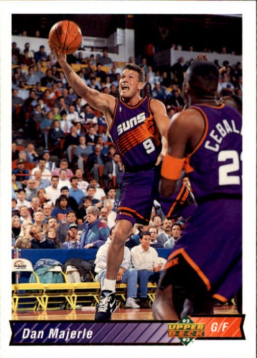 1992-93 Upper Deck #395 Dan Majerle