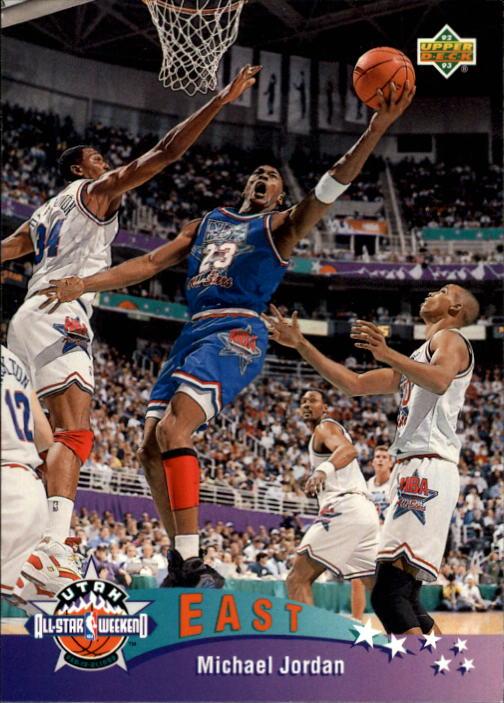 1992-93 Upper Deck #425 Michael Jordan AS