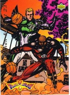 1992-93 Upper Deck #510 Larry Bird FAN/Michael Jordan
