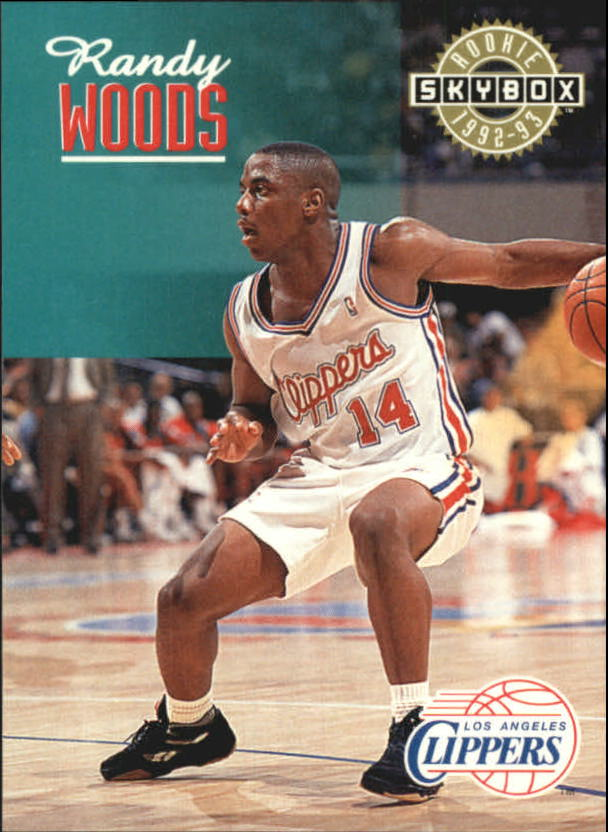 1992-93 SkyBox #355 Randy Woods SP RC