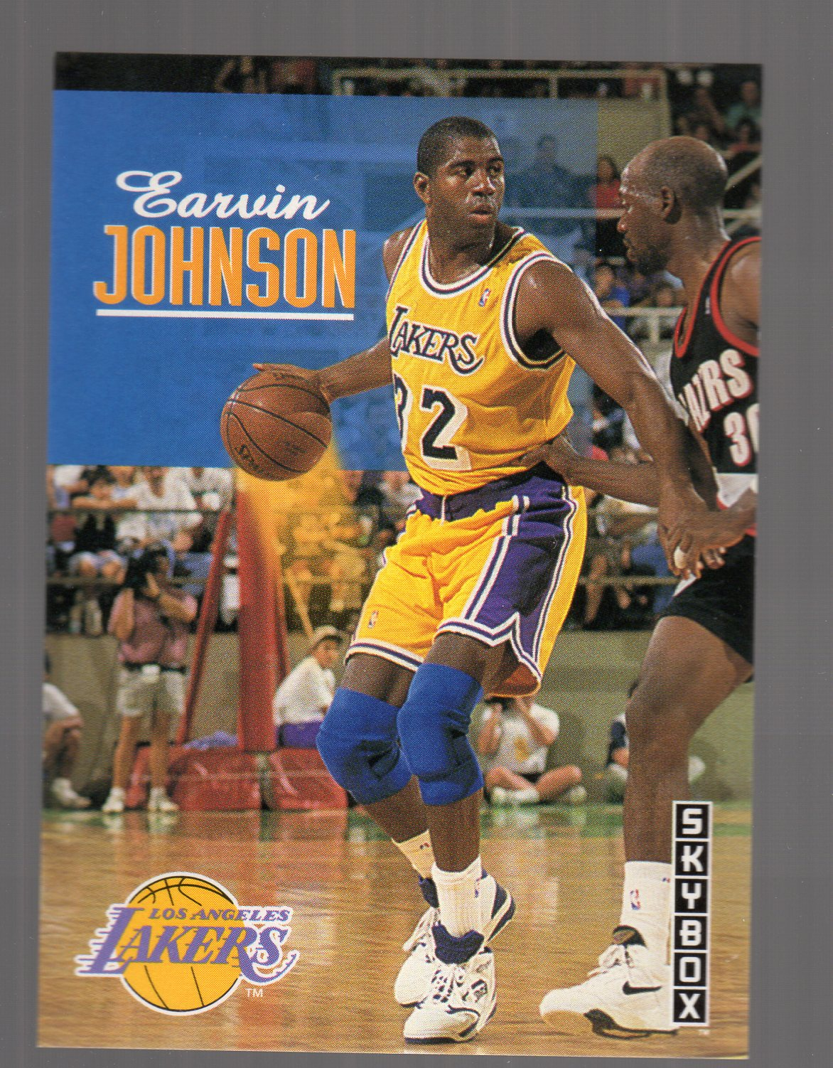 1992-93 SkyBox #358 Magic Johnson