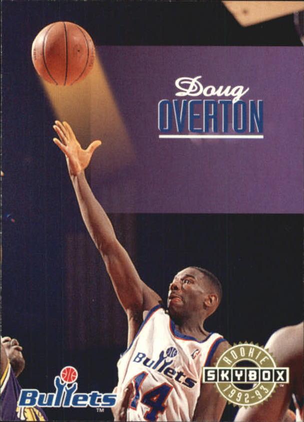 1992-93 SkyBox #401 Doug Overton
