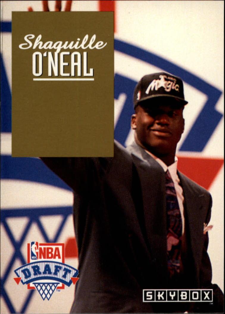 1992-93 SkyBox Draft Picks #DP1 Shaquille O'Neal