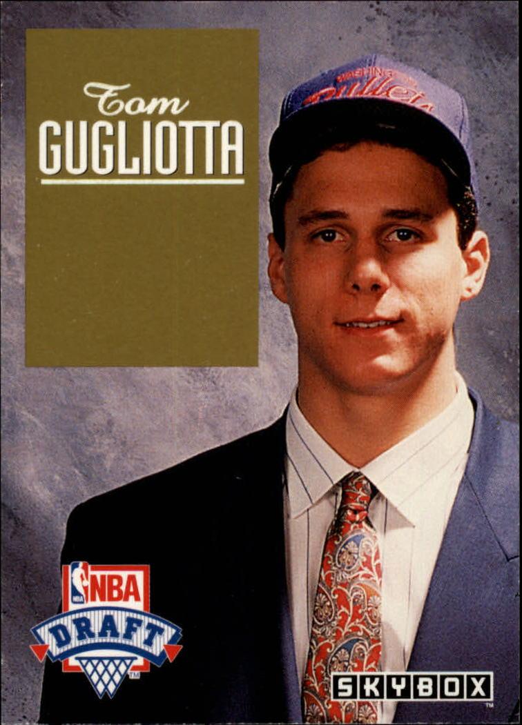 1992 93 SkyBox Draft Picks DP6 Tom Gugliotta NM MT