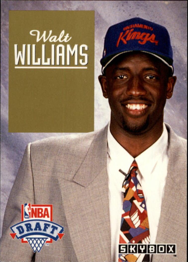 1992-93 SkyBox Draft Picks #DP7 Walt Williams