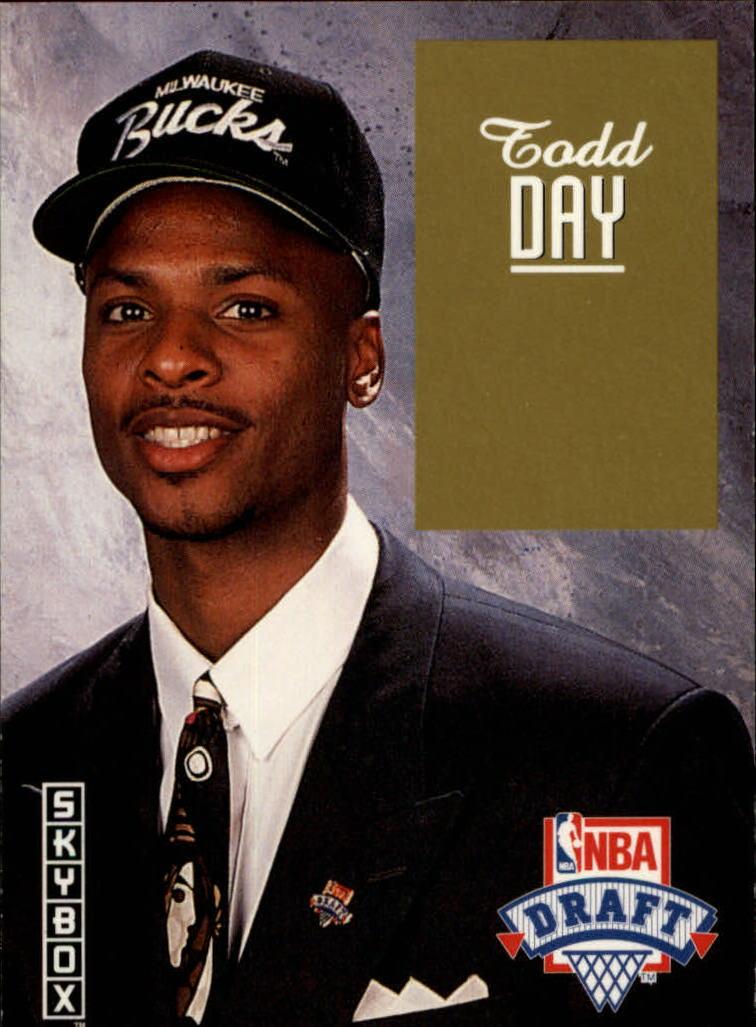 1992-93 SkyBox Draft Picks #DP8 Todd Day