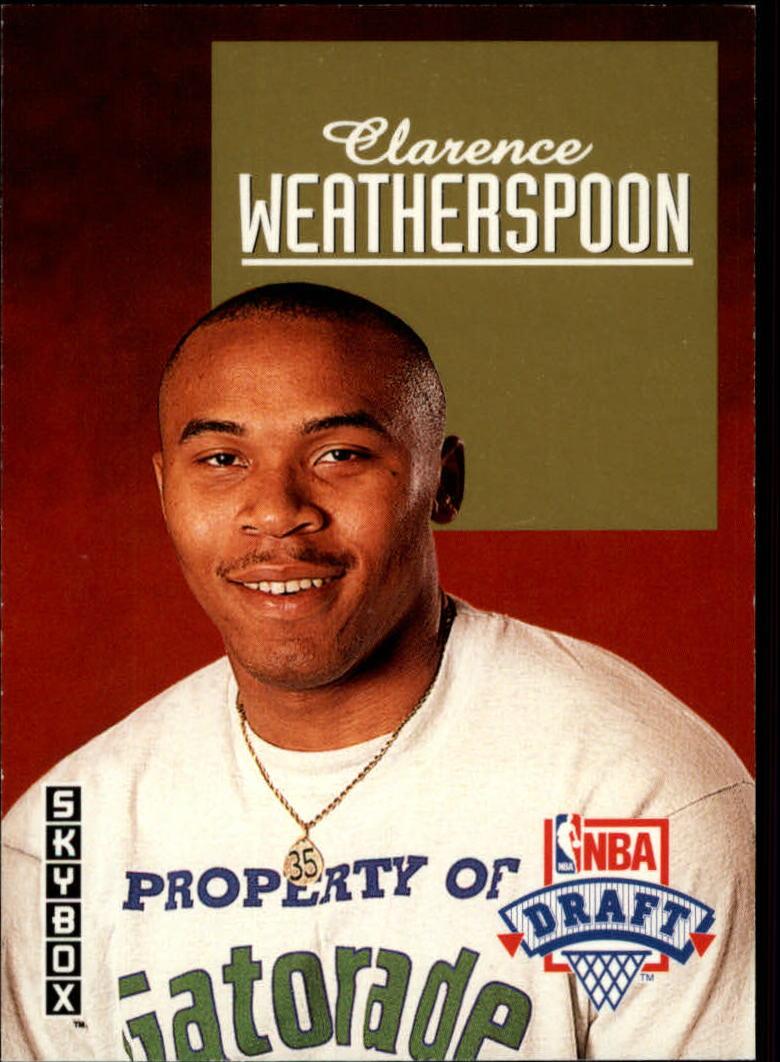 1992-93 SkyBox Draft Picks #DP9 Clarence Weatherspoon