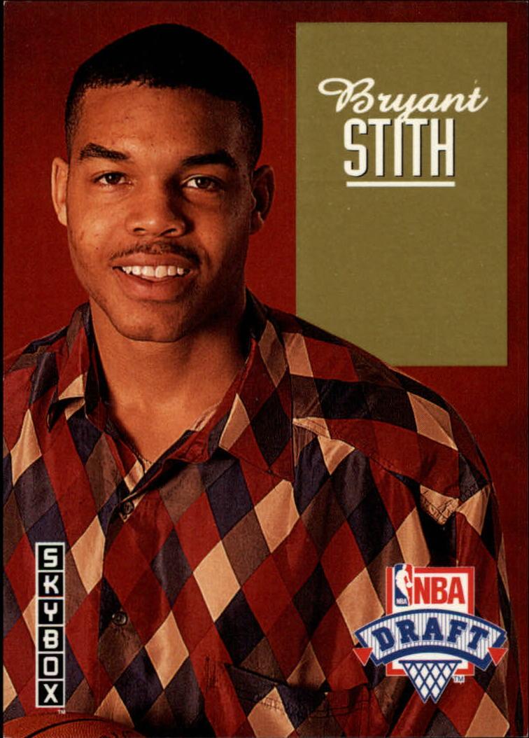1992-93 SkyBox Draft Picks #DP13 Bryant Stith