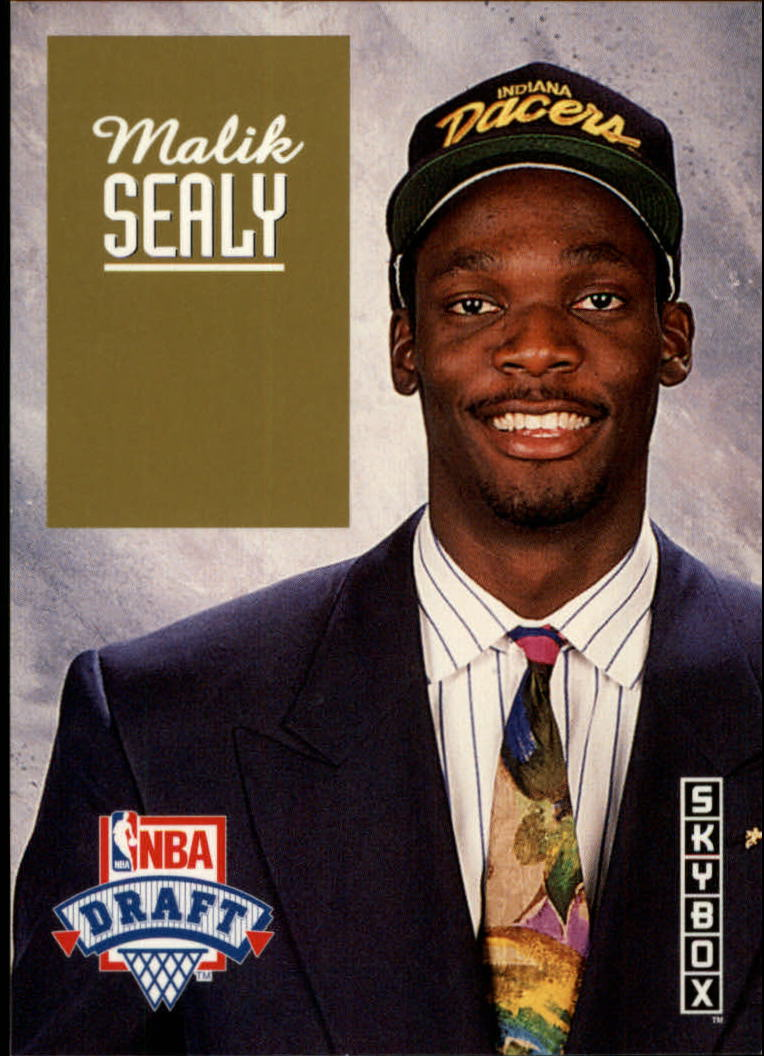 1992-93 SkyBox Draft Picks #DP14 Malik Sealy