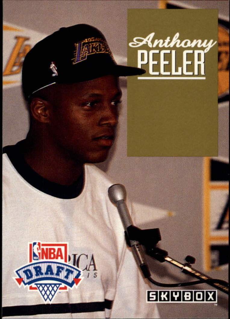 1992-93 SkyBox Draft Picks #DP15 Anthony Peeler