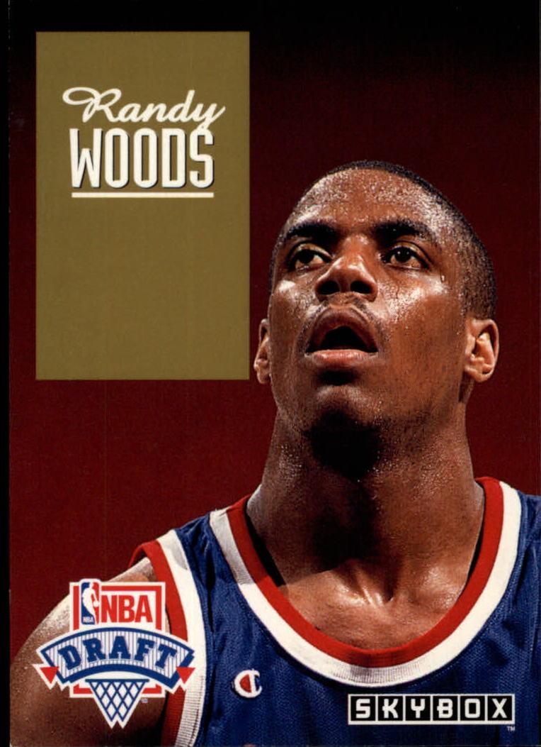 1992-93 SkyBox Draft Picks #DP16 Randy Woods