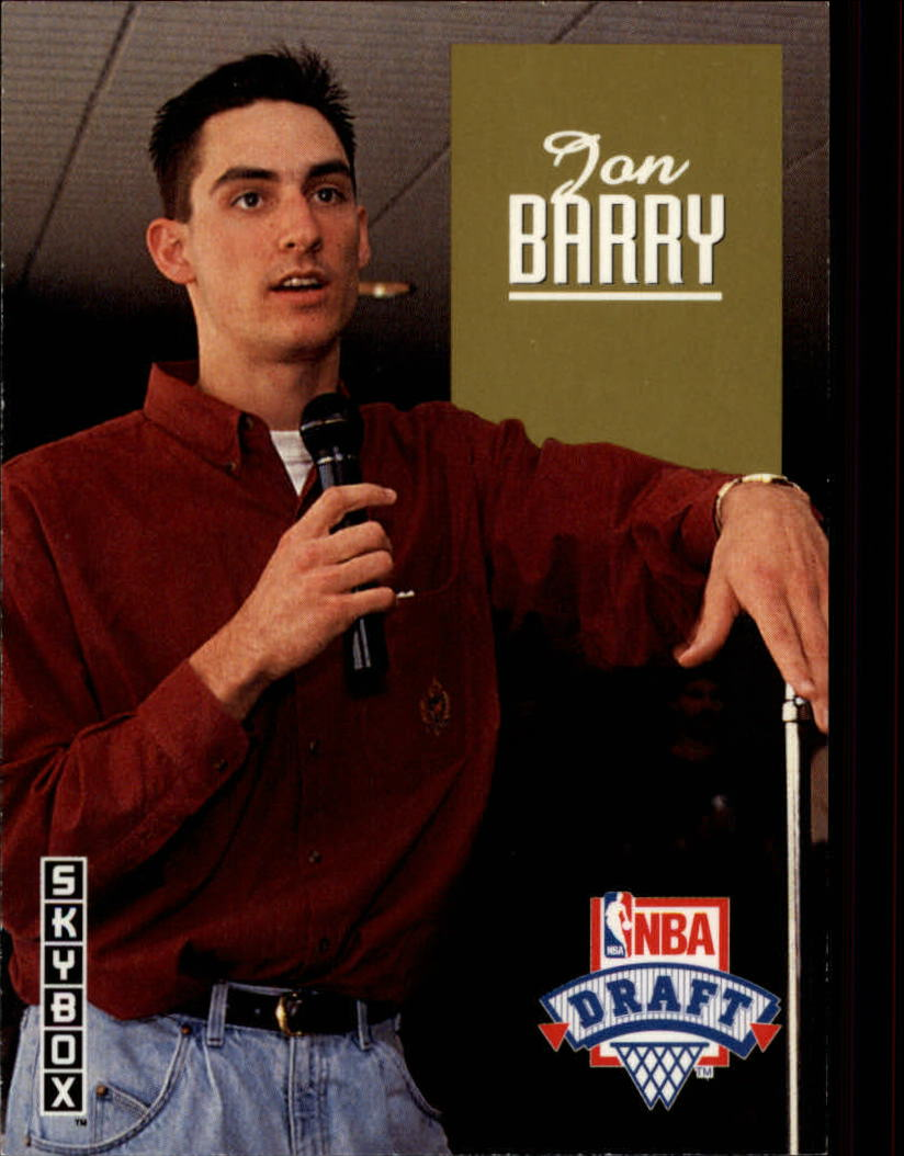 1992-93 SkyBox Draft Picks #DP21 Jon Barry