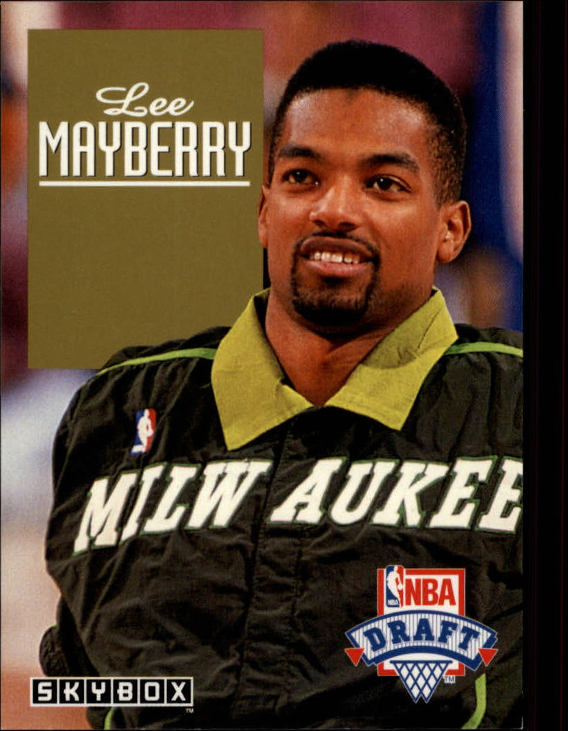 1992-93 SkyBox Draft Picks #DP23 Lee Mayberry