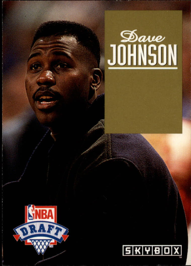 1992-93 SkyBox Draft Picks #DP26 Dave Johnson