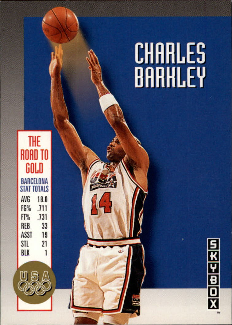 1992-93 SkyBox Olympic Team #USA7 Charles Barkley