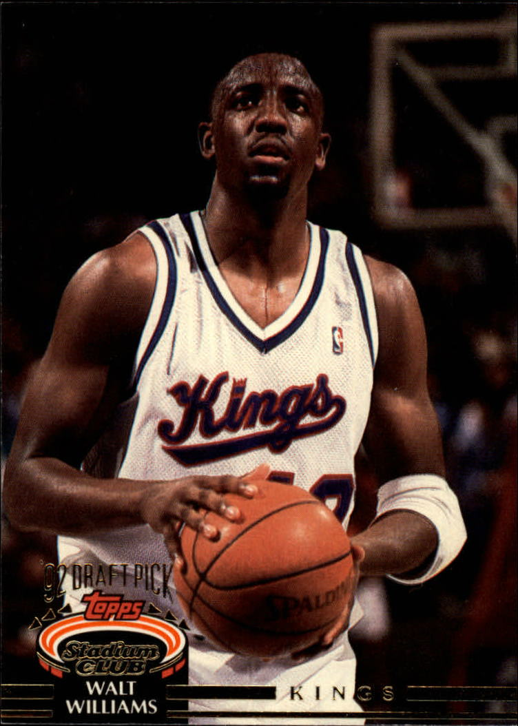 1992-93 Stadium Club #293 Walt Williams RC