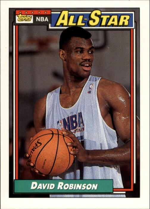 1992-93 Topps #106 David Robinson AS