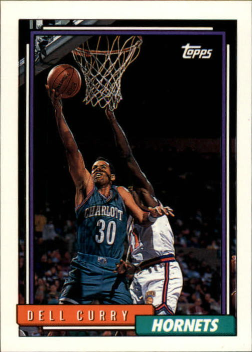 1992-93 Topps #242 Dell Curry
