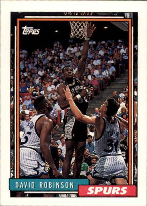 1992-93 Topps #277 David Robinson