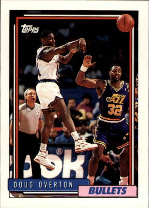 1992-93 Topps #317 Doug Overton