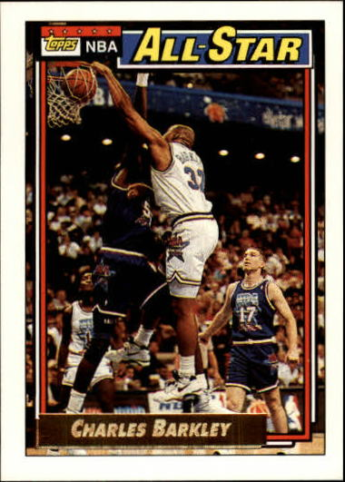 1992-93 Topps Gold #107 Charles Barkley AS