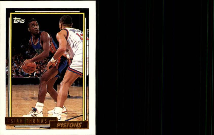 1992-93 Topps Gold #331 Isiah Thomas
