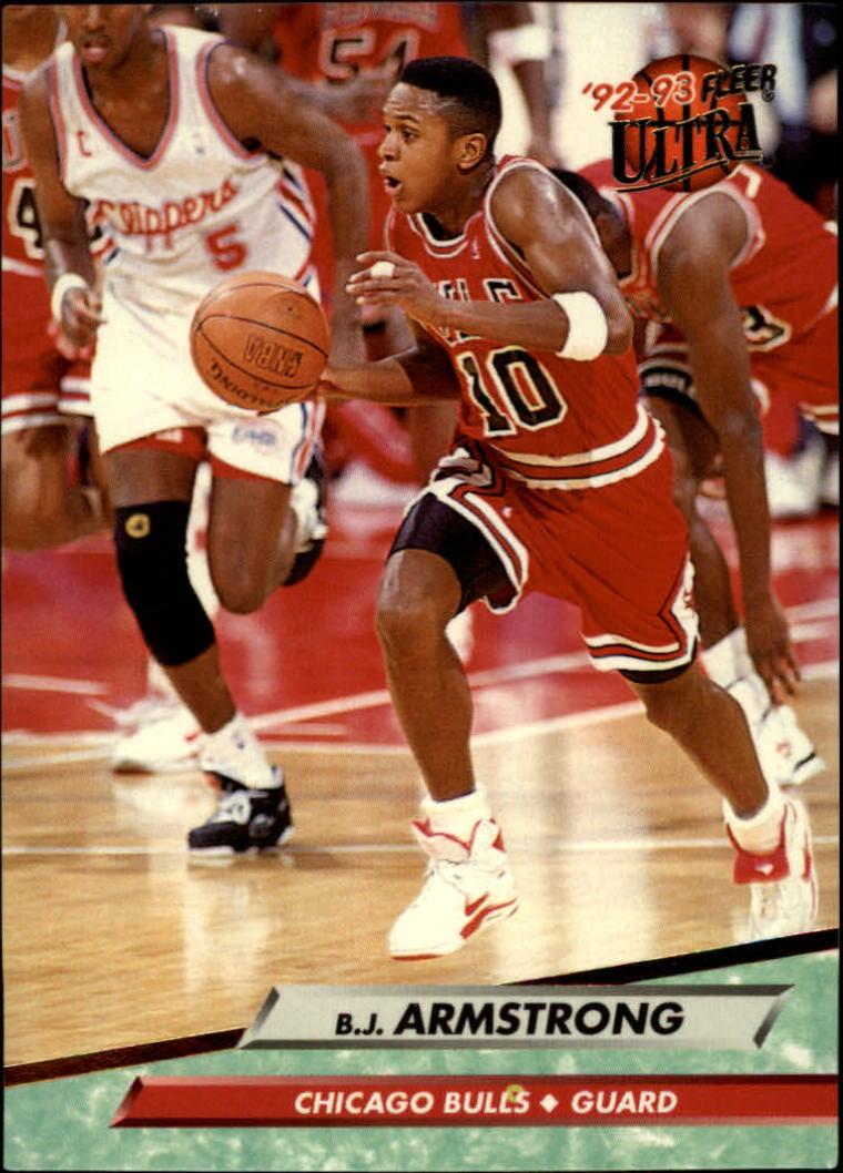 1992-93 Ultra #24 B.J. Armstrong
