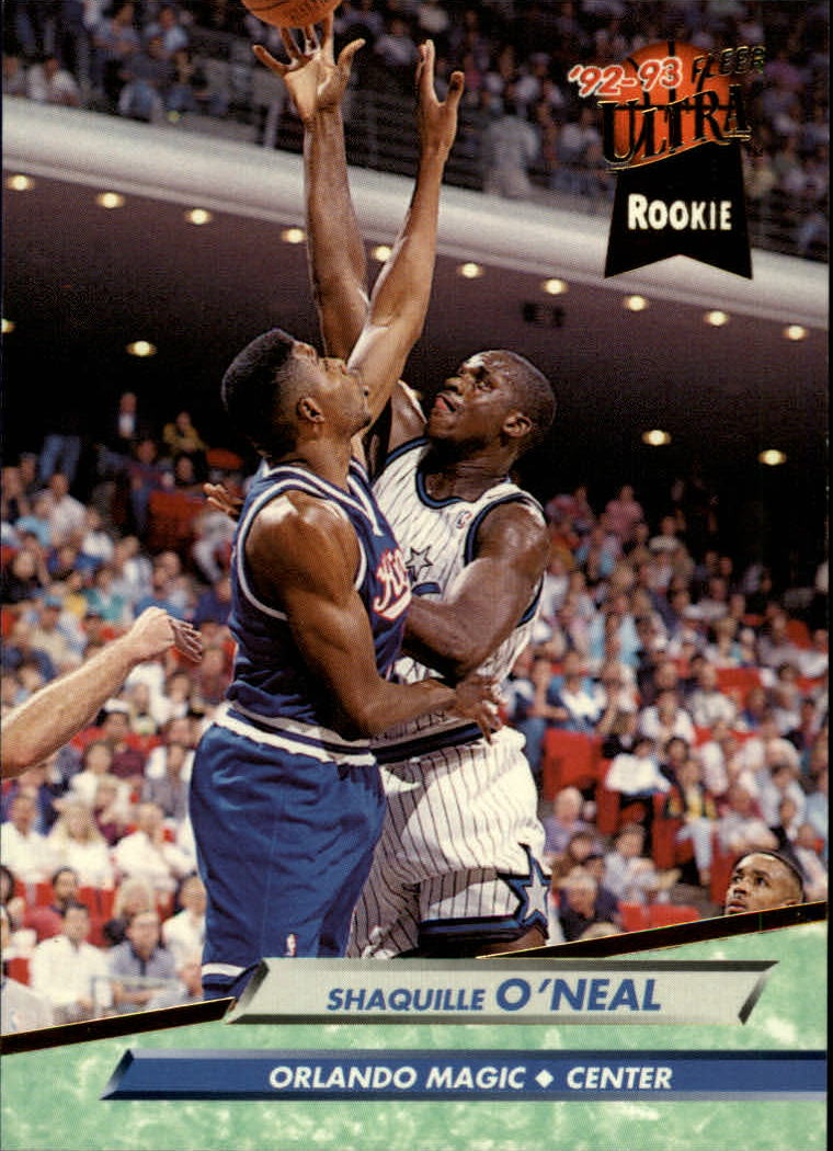 1992-93 Ultra #328 Shaquille O'Neal RC