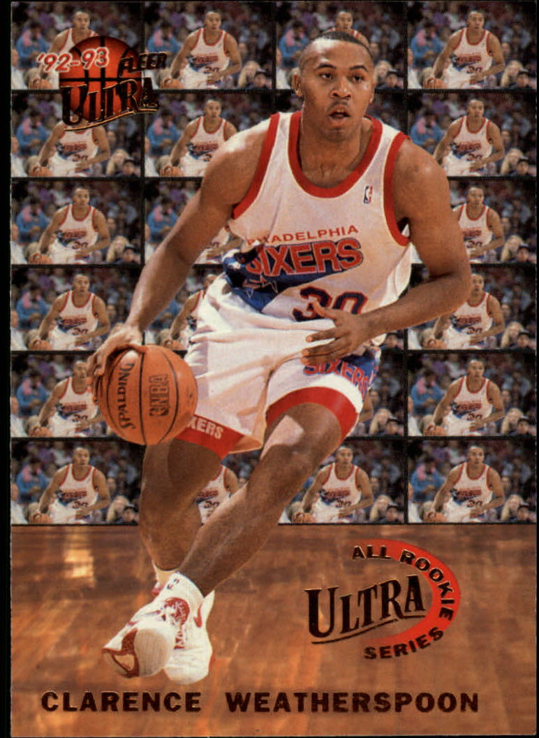 1992-93 Ultra All-Rookies #9 Clarence Weatherspoon
