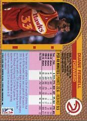 1992-93 Fleer #2 Duane Ferrell back image