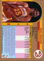 1992-93 Fleer #3 Paul Graham back image