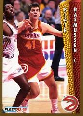 1992-93 Fleer #5 Blair Rasmussen
