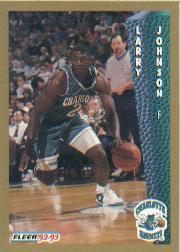 1992-93 Fleer #25 Larry Johnson