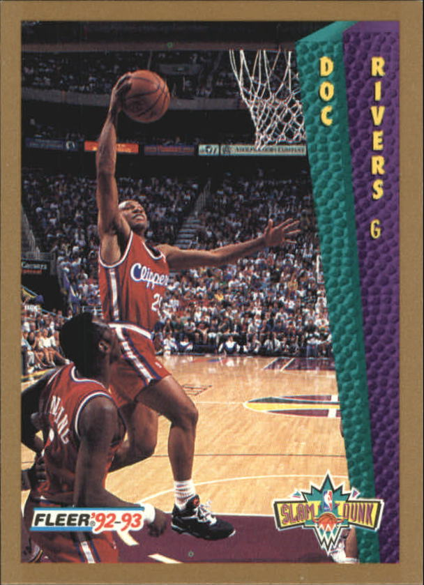 1992 93 Fleer 283 Doc Rivers SD