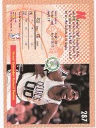 1992-93 Fleer #287 Robert Parish SD back image