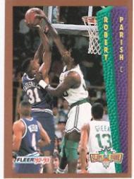 1992-93 Fleer #287 Robert Parish SD