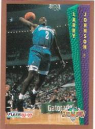 1992-93 Fleer #292 Larry Johnson SD