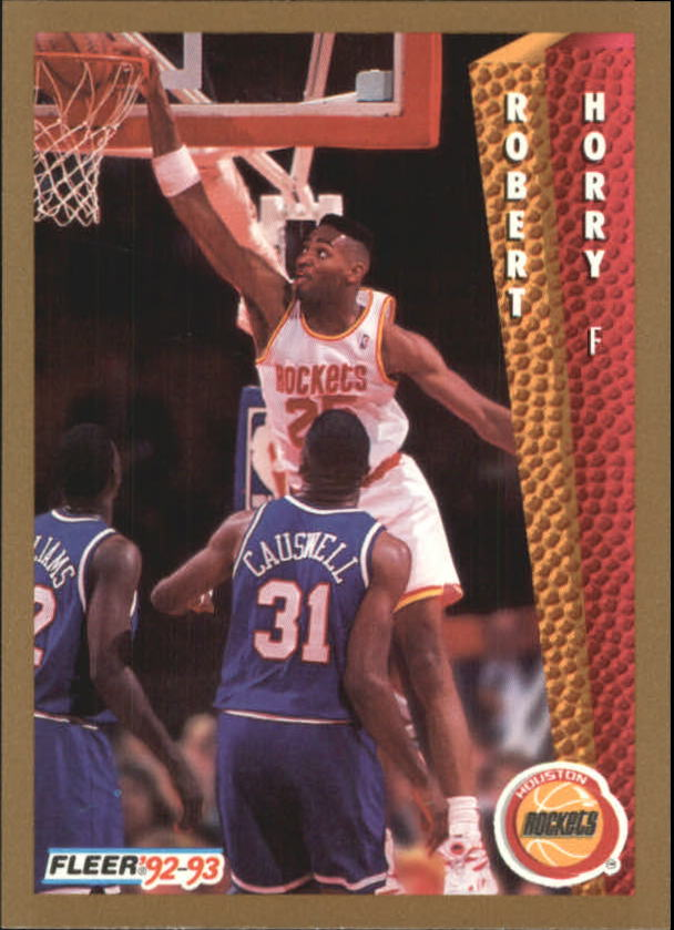 1992-93 Fleer #347 Robert Horry RC
